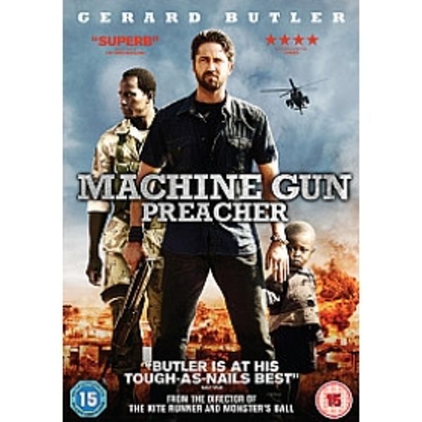 Machine Gun Preacher DVD
