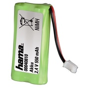 Hama NiMH Battery Pack, 2.4 V/550 mAh, for Siemens Giga