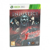 Injustice Gods Among Us Special Steelbook Edition Game Xbox 360