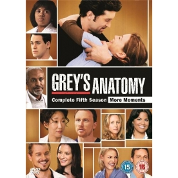 Greys Anatomy - Season 5 DVD