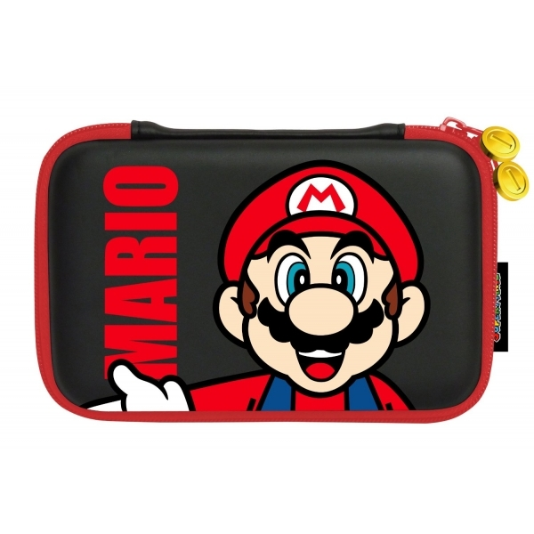 Nintendo Licensed Super Mario XL Hard Pouch Mario Design 3DS