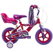 Sonic Glitz Girls Bike - Purple and Cerise 12-inch