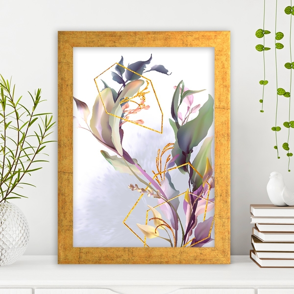 AC14873459631 Multicolor Decorative Framed MDF Painting