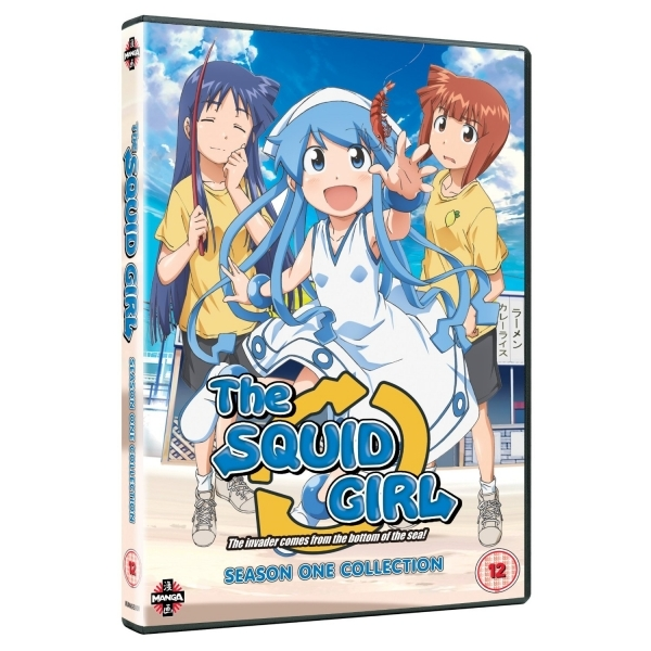 Squid Girl Complete Series 1 Collection DVD