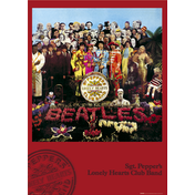 The Beatles Sgt Pepper Maxi Poster