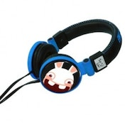 Raving Rabbids Gamer Headphones Blue/Black 3DS/DSi/DSi XL
