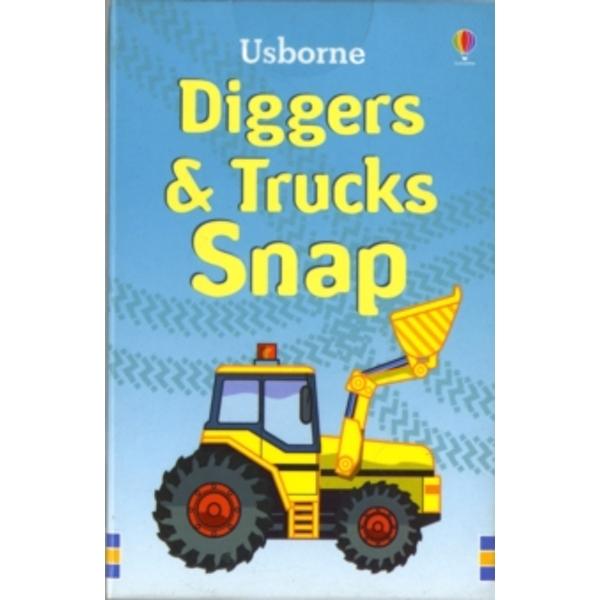 Diggers and Trucks Snap by Usborne Publishing Ltd (Novelty book, 2007)