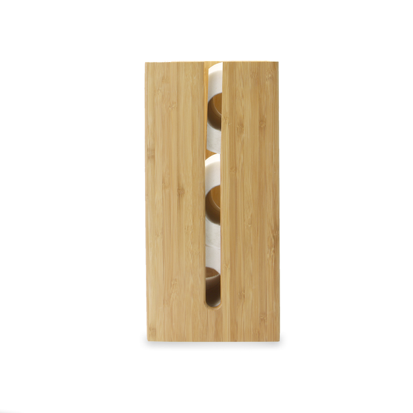 Bamboo Toilet Roll Holder| M&W