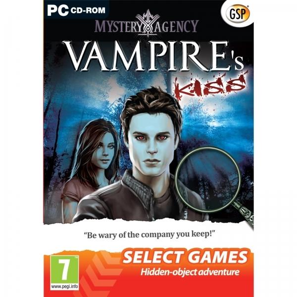 Mystery Agency A Vampire's Kiss Game PC