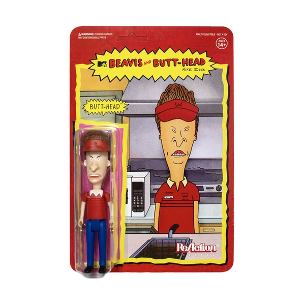 Beavis & Butt-Head ReAction Action Figure Wave 1 Burger World Butthead 10 cm