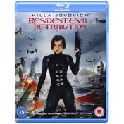 Resident Evil Retribution Blu Ray