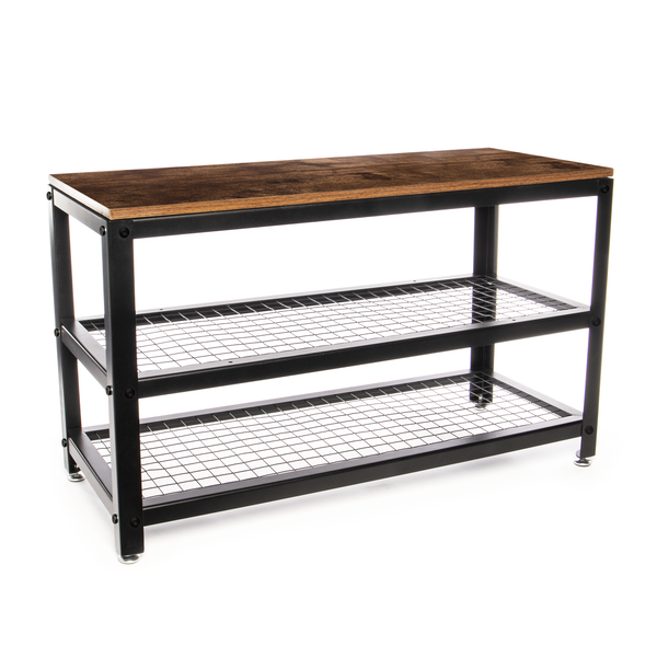 3 Tier Shoe Rack Bench | M&W