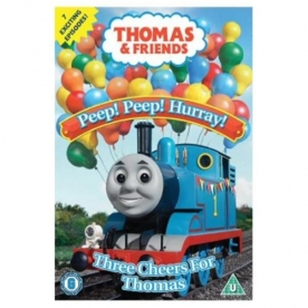 Thomas and Friends Peep! Peep! Hurray! DVD