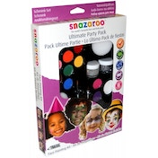 Ex-Display Snazaroo Palette Kit The Ultimate Party Pack Face Painting Kit Used - Like New