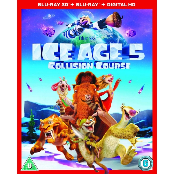 Ice Age 5: Collision Course 3D + Blu-ray