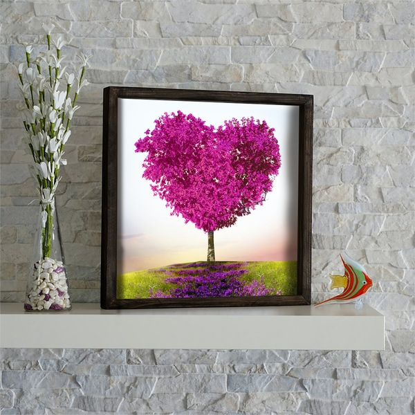 KZM634 Multicolor Decorative Framed MDF Painting