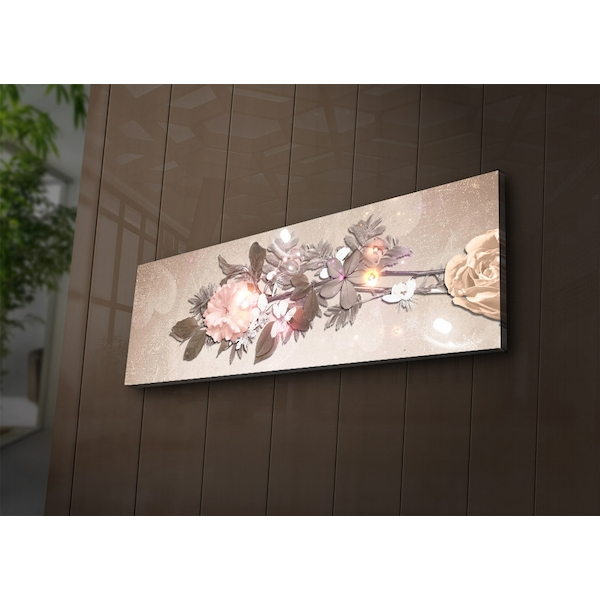 3090?ACT-55 Multicolor Decorative Led Lighted Canvas Painting