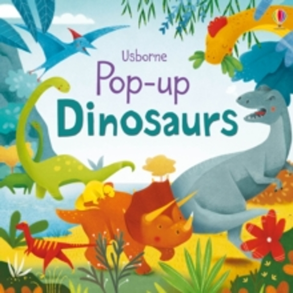 Pop-Up Dinosaurs by Fiona Watt (Board book, 2016)