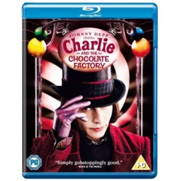 Charlie and The Chocolate Factory 2005 Blu-ray