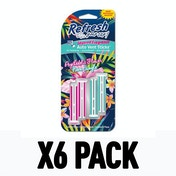 Psychic Flower/Neon Jungle (Pack Of 6) Refresh Vent Stick