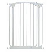 Dreambaby Auto-Close 1 Meter Tall Metal Safety Gate (White)