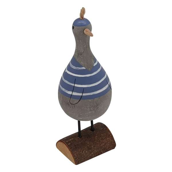 Standing Cement Duck Ornament By Heaven Sends