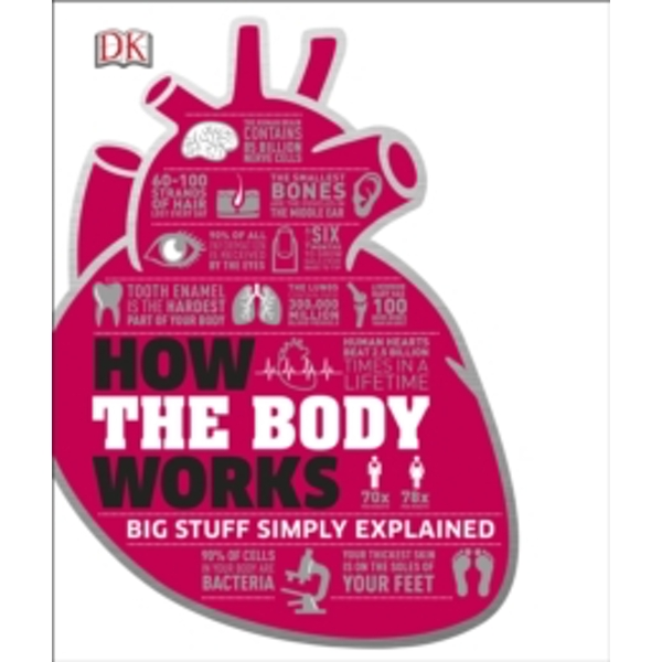 How the Body Works by DK (Hardback, 2016)