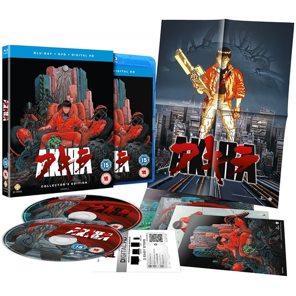Akira: The Collectors Edition - Triple Play Edition (incl  Blu-ray, DVD,  Digital Copy)