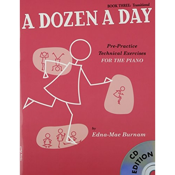 A Dozen A Day: Book Three - Transitional Edition (Book And CD) by Edna Mae Burnam (Paperback, 2008)