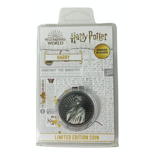Harry Potter Limited Edition Coin - Harry