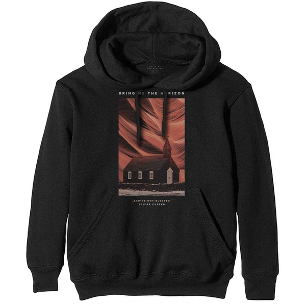 Bring Me The Horizon - You're Cursed Men's Small Pullover Hoodie - Black