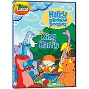Harry and His Bucket Full of Dinosaurs: I'm King Harry DVD