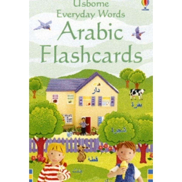 Everyday Word Flashcards In Arabic by Usborne Publishing Ltd (Novelty book, 2009)