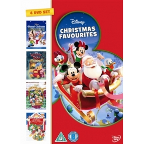Disney Christmas Favourites DVD Box Set