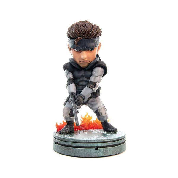 Snake SD (Metal Gear Solid) First4Figures Collectable PVC Figurine