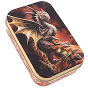 Age Of Dragons Desert Dragon Metal Tin