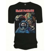 Iron Maiden Final Frontier Album Mens T Shirt: Large