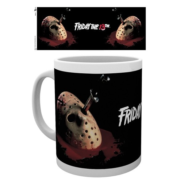 Friday the 13th 13th Mask Mug