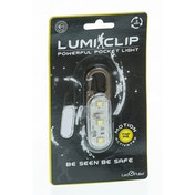 Lumi Clip Mini Torch / Flashing Light Clip for Running, Walking, Cycling, Jogging