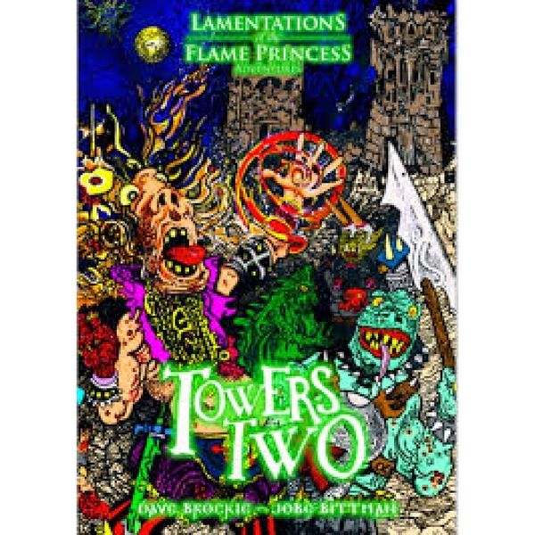 Lamentations of the Flame Princess Towers Two