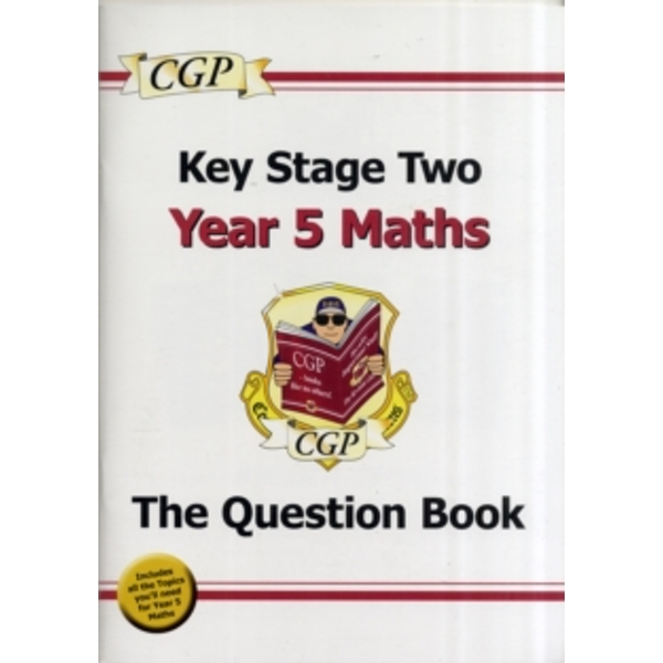 KS2 Maths Question Book - Year 5 by CGP Books (Paperback, 2008)