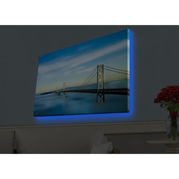 4570HDACT-030 Multicolor Decorative Led Lighted Canvas Painting