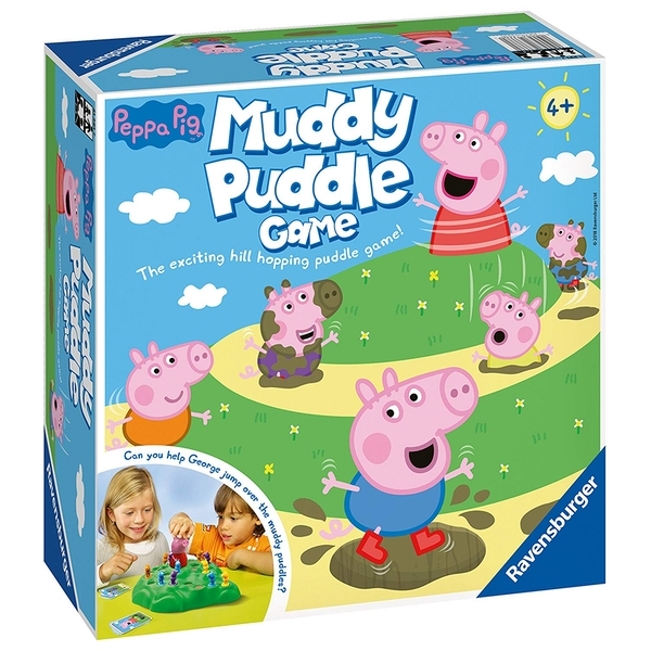 Ravensburger Peppa Pig's Muddy Puddles Board Game - Image 1