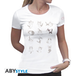 Chi - Chi'S Expressions Women's Medium T-Shirt - White - Image 2