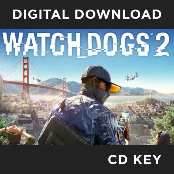 Watch Dogs 2 PC CD Key Download for uPlay (Australian Version)