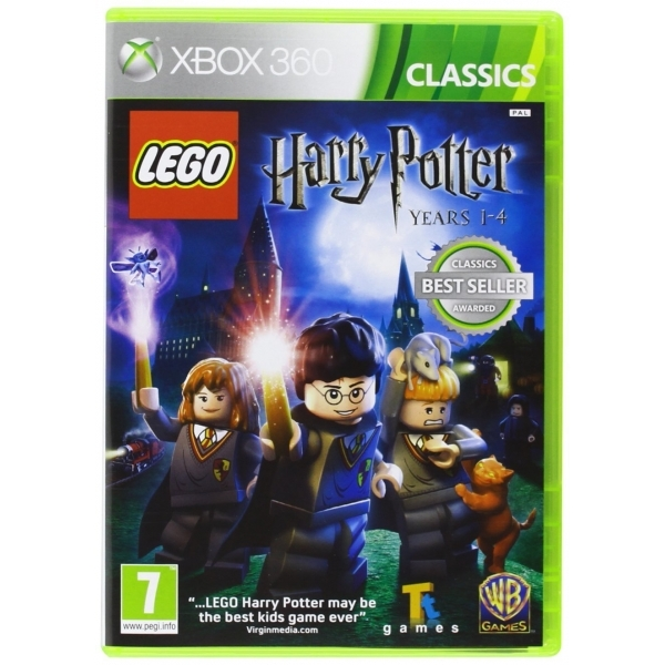 Lego Harry Potter Years 1-4 Game (Classics) Xbox 360
