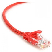 StarTech 0.6m Cat5e RJ-45/RJ-45 Snagless UTP Network Patch Cable (Red)