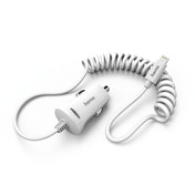 Hama 178263Auto Car Mobile Phone Chargers (?Mobile Phones, Smartphone, Car Charger, White Thermal, Contact, White)