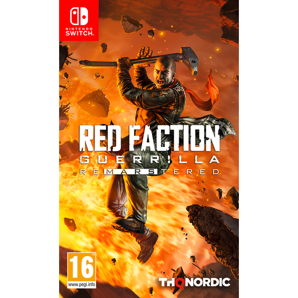 Red Faction Guerrilla Re-Mars-tered Nintendo Switch Game