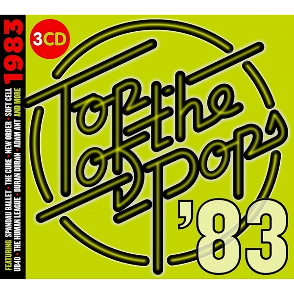 Various Artists - TOTP 1983 Music CD